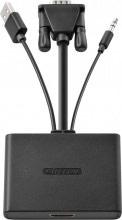 Sitecom CN-352 Adattatore Cavo VGA HDMI + Jack Audio