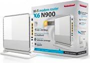 Sitecom Modem Router Adsl Wi-Fi Dual-Band Cloud Security - X6 N900 - WLM-6600