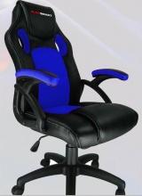 Smart Sales PSGT0001 Sedia Gaming Ergonomica con Braccioli Nero Blu  Playsmard