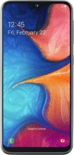 "Smasung 13017217 Galaxy A20E Vodafone Smartphone Dual Sim Display 5.8"" NFC Nero"