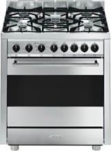 Smeg Cucina a Gas 5 Fuochi Forno Elettrico Ventilato Grill 70x60 cm B7GMXI9