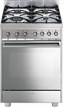 Smeg Cucina a Gas 4 Fuochi Forno Elettrico Ventilato Grill 60x60 cm C6GMxI8-2