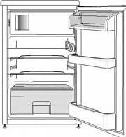 Smeg FA120APS Mini frigo Frigo bar Miniba 101 lt Classe A+ Statico Silver