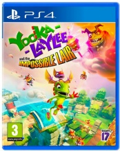 Sold Out 1036721 PS4 Yooka-Laylee and the Impossible Lair Platform 3+