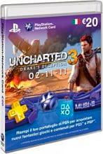 Sony PSN Card: Uncharted 3, 20 Eu, IT - 9177494