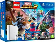 Sony 9350170 Playstation 4 PS4 500 Gb LAN + Super Heroes2 + Lego Avengers