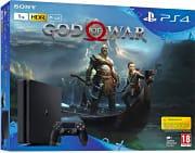 Sony 9384373 Console Playstation 4 PS4 Slim 1TB + Gioco God of War