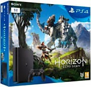 Sony PS4 Play Station 4 console Slim 1 Tb+Gioco Horizon Zero Dawn Bundle 9825869