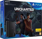 Sony Console PlayStation 4 PS4 500Gb + Videogioco Uncharted: The Lost Legacy