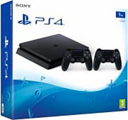 Sony Console PS4 1 TB Slim Play Station 4 + 2° controller DualShock4 V2 9897255