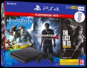 Sony 9932505 PlayStation 4 Console 1TB Horizon Zero Dawn + The Last of Us + Uncharted 4