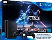 Sony PlayStation 4 PS4 Slim 1TB+Star Wars: Battlefront 2 + 2° Controller 9965367