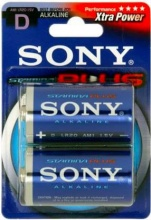 Sony Batterie Alcaline Stamina Plus Alkaline Batteries AM1B2A