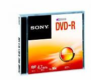 Sony DMR47SJ DVD vergine DVD-R 4.7 Gb 16x 120min 1 disco