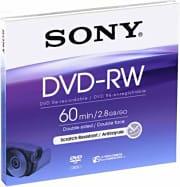 Sony Supporto Riscrivibile DVDRw da 8 cm (1000 Scritture) Dmw60Aj