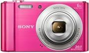 Sony DSC W810 Fotocamera Digitale 20 Mpx Zoom 6x Stabilizzato Pink DSC-W810 Rosa