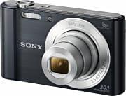 Sony Fotocamera Digitale 20 Mpx Zoom 6x Filmati Stabilizzato Black DSC-W810