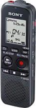 Sony Registratore Vocale Digitale Voice Recorder 4 GB LCD Nero ICDPX333