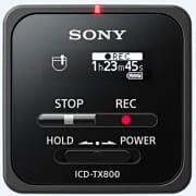 Sony ICDTX800B Registratore Vocale Digitale Dittafono colore Nero