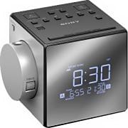 Sony Radiosveglia Radio Sveglia digitale LCD Snooze Allarme doppio - ICFC1PJ