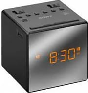Sony Radiosveglia AM  FM Display LED Funzione Snooze Nero ICFC1T