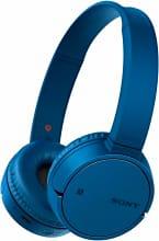 Sony MDR-ZX220BT Cuffie Bluetooth Archetto Pieghevoli Ricaricabili Microfono Blu