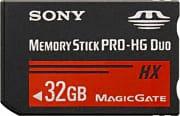 Sony Scheda di Memoria Memory Stick MS Pro-HG Duo 32Gb MS-HX32B