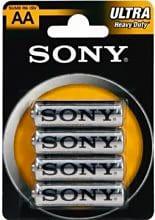 Sony Batteria Pila Stilo Aa Sum3 R6 B4
