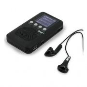 Soundmaster DAB170SW Radio Portatile DAB  FM Ricaricabile jack 3.5 mm Nero