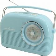 Soundmaster DAB450BL Radio Portatile DAB  FM Ricaricabile jack 3.5 mm Blu