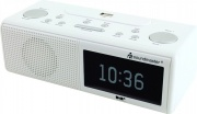 Soundmaster UR8350WE Radiosveglia Radiosv Dab+ Usb con Display Bianco