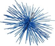 Spazzolificio Aiello 215 Scovolo per Pulizia Canna in Nylon Tondo mm 160