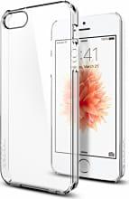 "Spigen 041CS20246 Custodia Cover Smartphone iPhone 5SE 4"" Colore Trasparente"