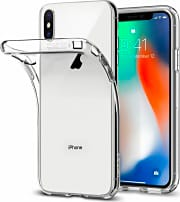 Spigen 057CS22118 Custodia Cover Apple iPhone X TPU Trasparente  Liquid Crystal