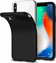 Spigen 057CS22119 Custodia Cover Apple iPhone X TPU Nero Matto -  Liquid Crystal