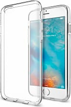 Spigen SGP11596 Custodia Cover Apple iPhone 66s TPU Trasparente  Liquid Crystal