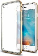 Spigen Cover Custodia Smartphone iPhone 6S Neo Hybrid Ex Gold SGP11624