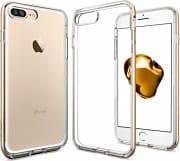 Spigen Cover Custodia Smartphone iPhone 7 Plus Hybrid Champagne Gold 043CS20538