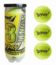 Sport One 201641 Palle tennis Tubo 3 palle Leopard