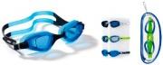 Sport One 501574 Occhialini nuoto con montatura monopezzo e fascia regolabile