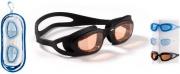Sport One 501680 Occhialini nuoto a mascherina monopezzo integrale in silicone