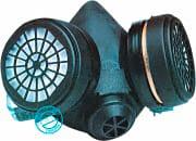 Stamplast Maschera Antigas Semimaschera Respiratore con doppio fitro 755A1