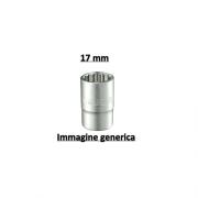 """Stanley 1-17-060 Bussola a bocca poligonale 17 mm attacco 12"""" -  Maxi Drive"""