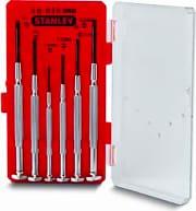 Stanley 1-66-039 Cacciaviti di Precisione Set da 6 giravite elettronica