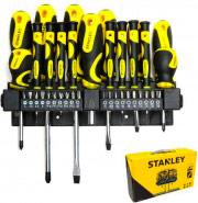 Stanley STHTO-62143 Set Cacciaviti 57pz Std | Inserti | Bussole | Di Precisione