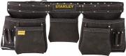 Stanley STST1-80113 Doppio fodero portautensili in cuoio con cintura cm 145x9x26