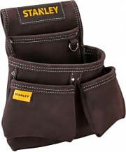 Stanley STST1-80116 Fodero portautensili in cuoio con Doppio tasca 30x7x33 cm