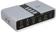 StarTech ICUSBAUDIO7D Scheda Audio Esterna Adatattore Audio Usb 7.1