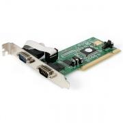 StarTech PCI2S550 Scheda seriale PCI a 2 Porte RS-232 con 16550 UART