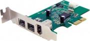StarTech PEX1394B3LP Scheda adattatore PCIe FireWire 2b 1a 1394 a basso profilo